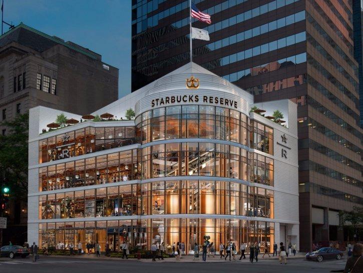 Starbucks Reserve Roastery Chicago