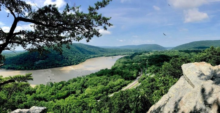 Weverton Cliffs on the Appalachian Trail