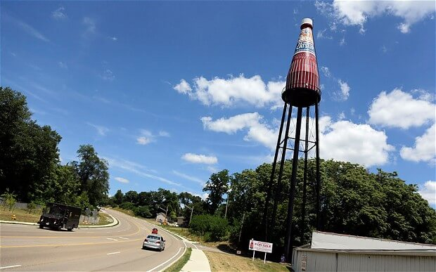 World's Largest Catsup Water Tower