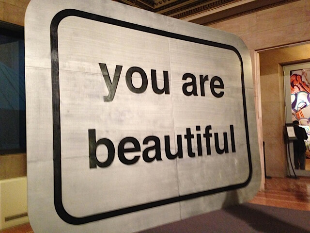 You Are Beautiful Exhibit