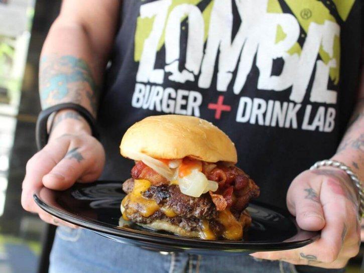 Zombie Burger + Drink Lab