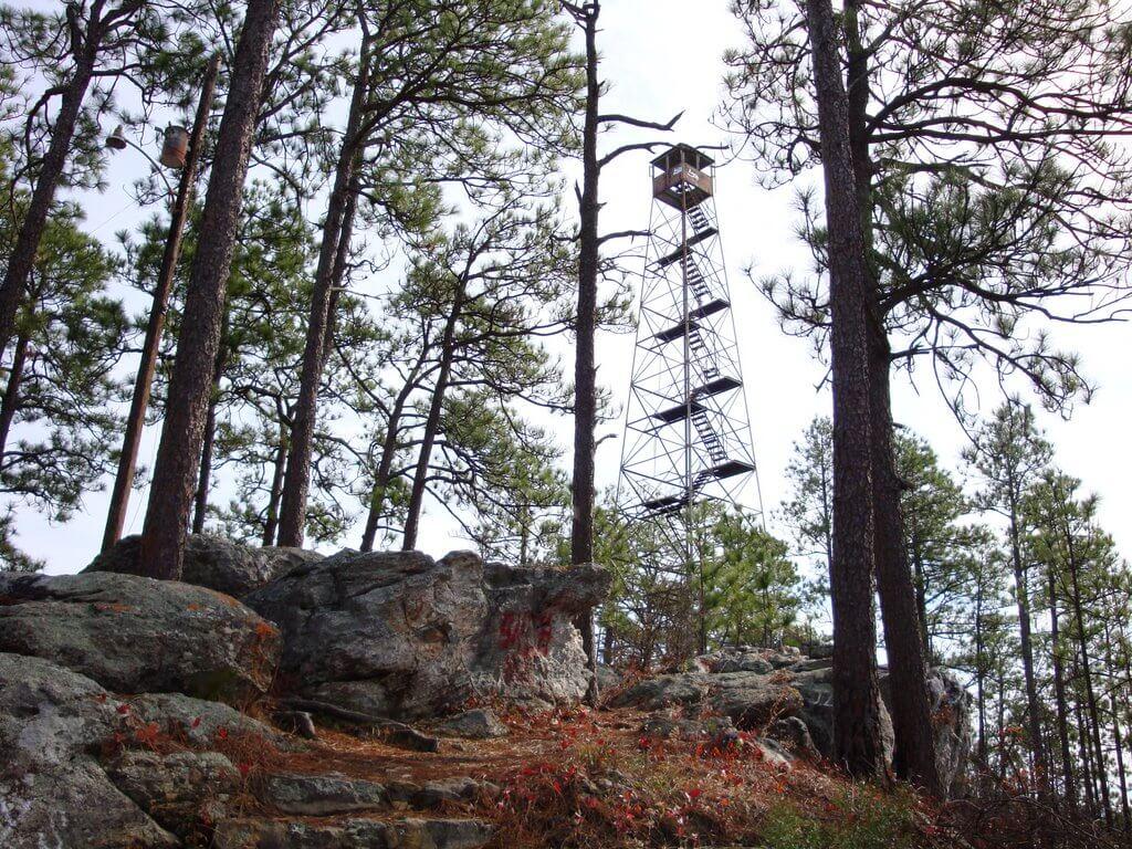 Smith Mountain Fire Tower, Alabama