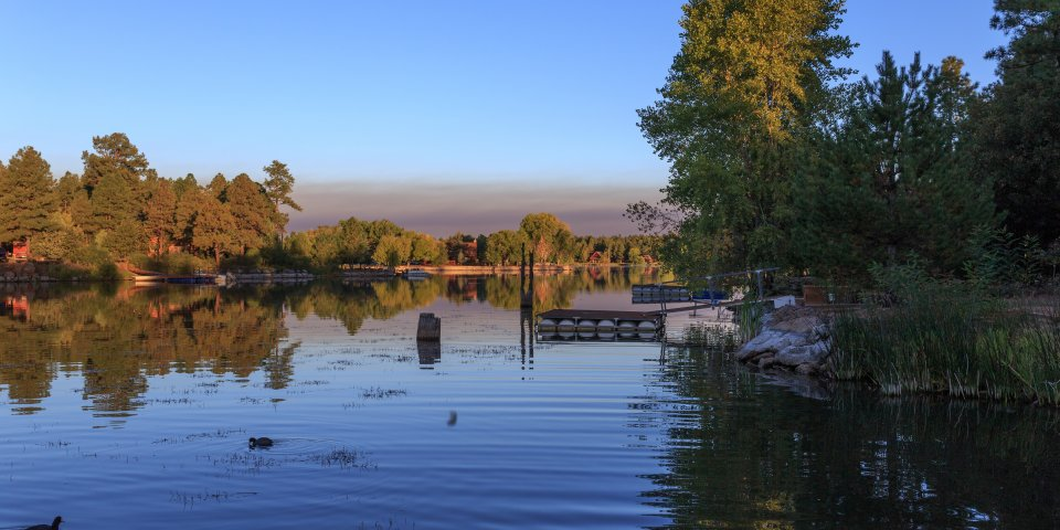 Rainbow Lake is one of the most family-friendly lakes in Arizona.