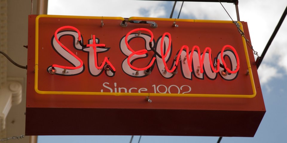 St. Elmo Bar sign in Bisbee.