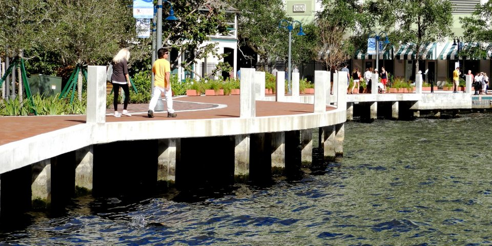 The Fort Lauderdale River Walk is one of the excellent things to do in Fort Lauderdale, Florida.