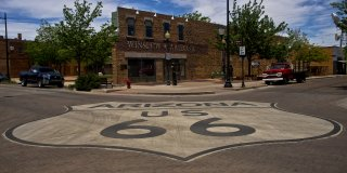 What is Standing on the Corner in Winslow, Arizona
