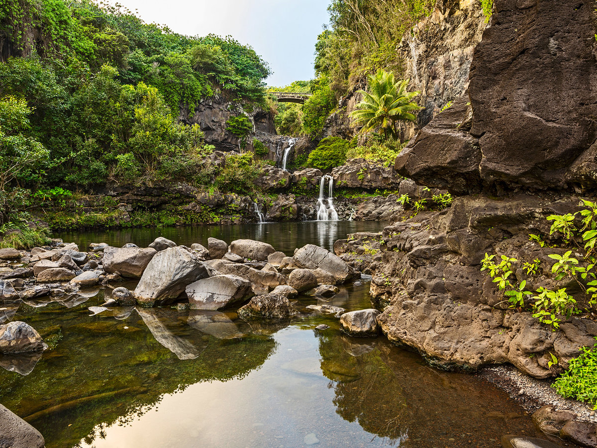 The Pools of 'Ohe'o, Hawaii