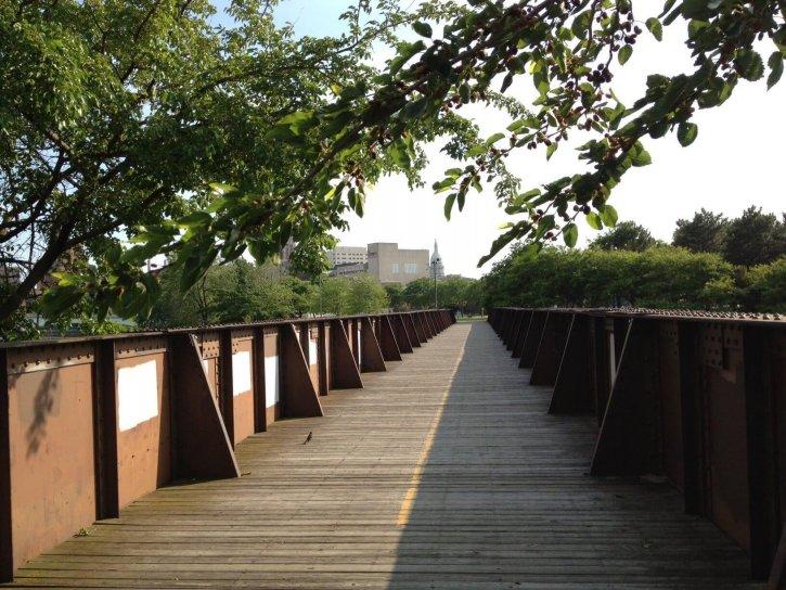 Adado Riverfront Park Lansing