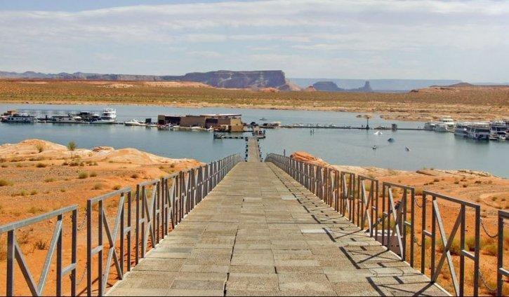Antelope Point Marina Arizona