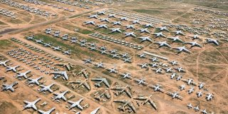 Visit the Largest Airplane Graveyard right here in Tucson, Arizona for an Amazing Experience