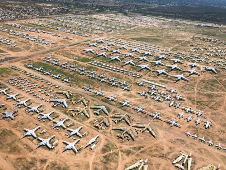 Davis-Monthan Air Force Boneyard
