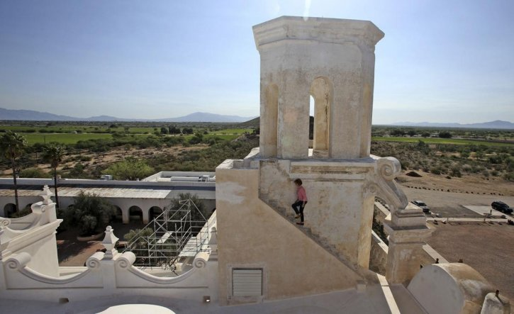 East Tower Mission San Xavier del Bac