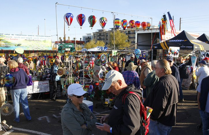 Havasu Balloon Festival Arizona
