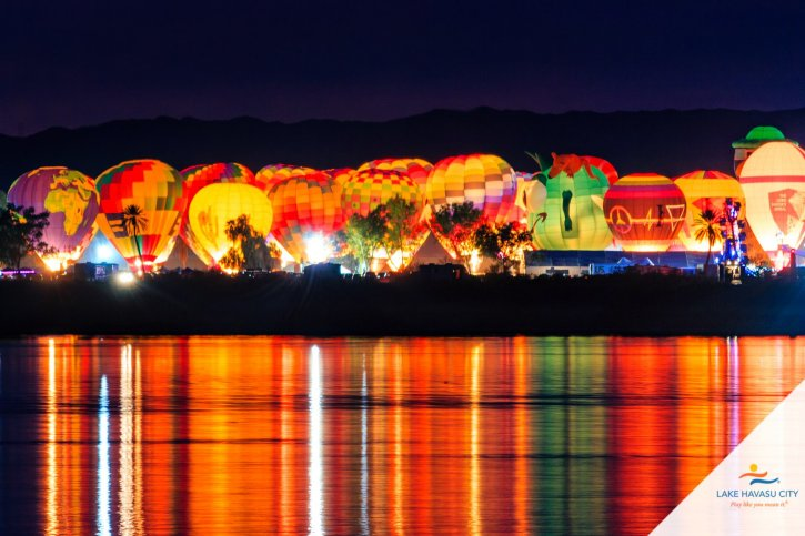 Havasu Festival Balloon Glow