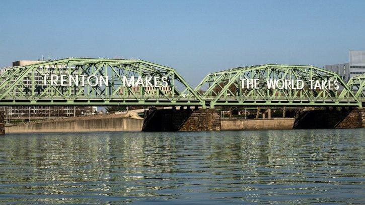 Lower Trenton Bridge Trenton Makes The World Takes
