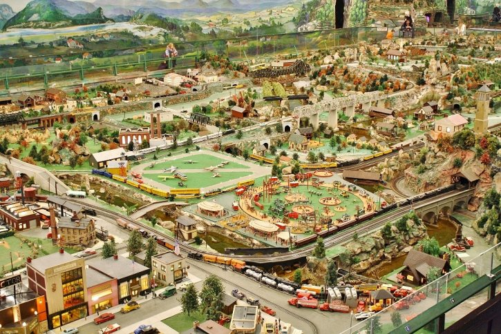 Roadside America Miniature Model