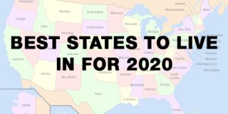 10 Best States to Live in For 2020