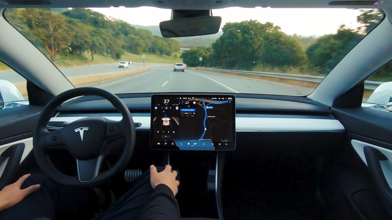self driving cars california