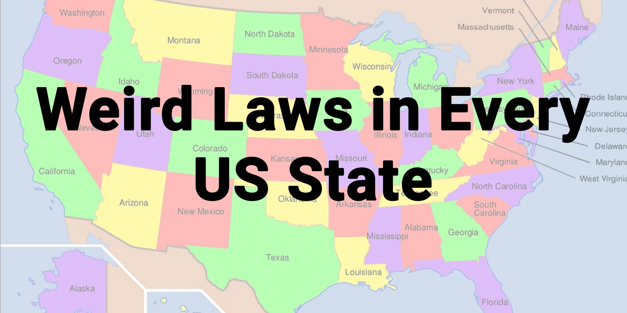 weird laws us