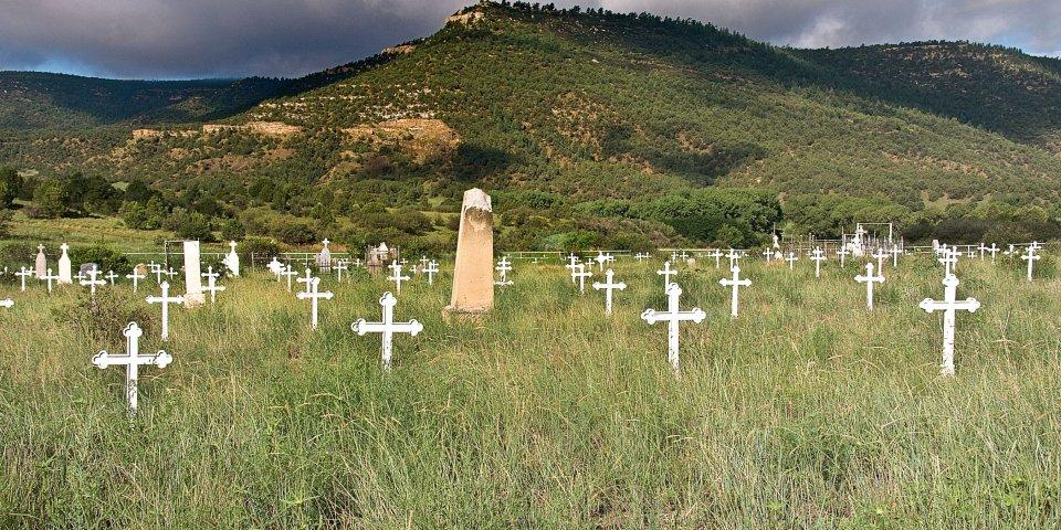 Dawson Memorial, Cimarron, New Mexico