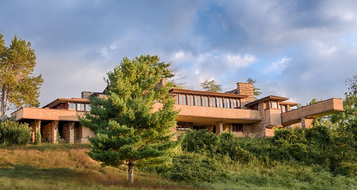 Frank Lloyd Wright's Perfect Country Home, Wisconsin