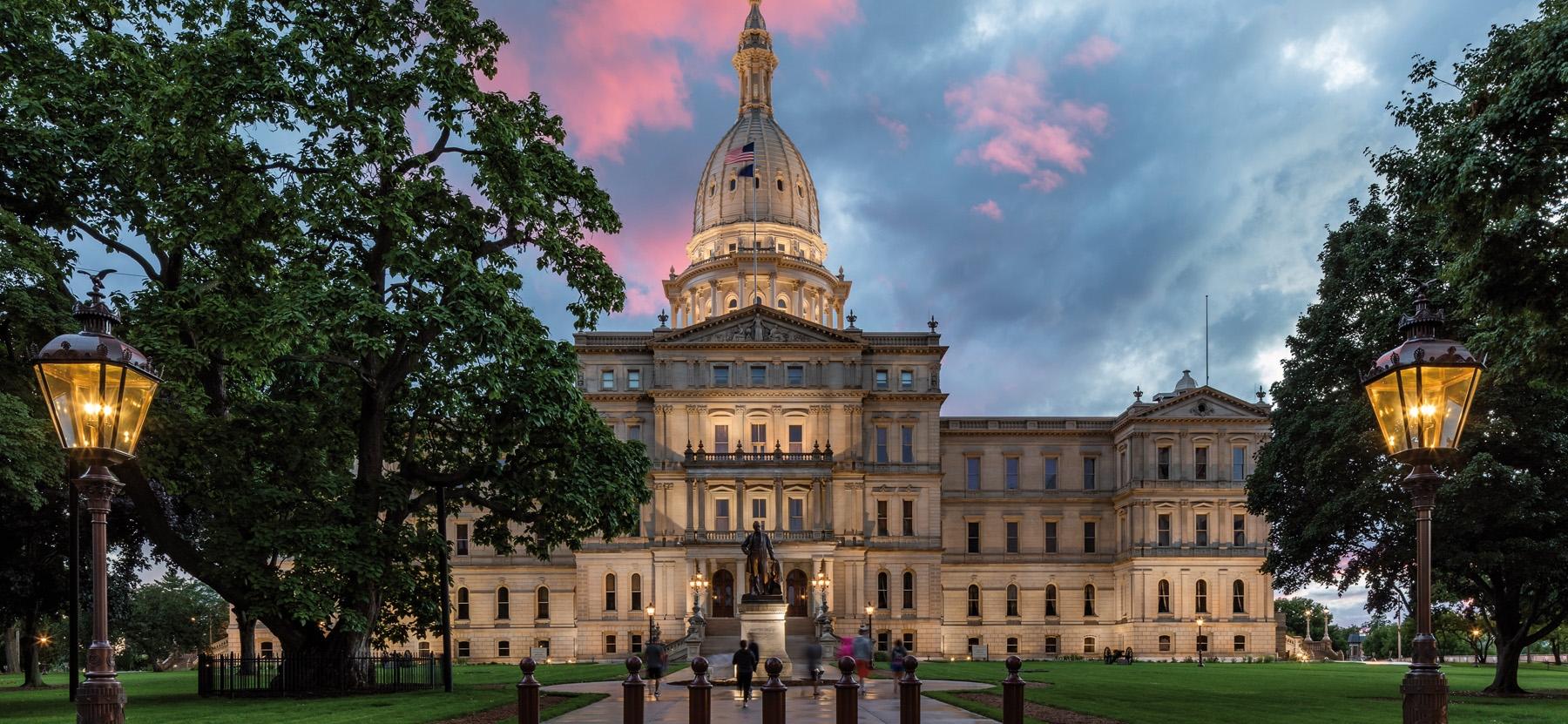 Michigan State Capitol Building, Lansing, MI