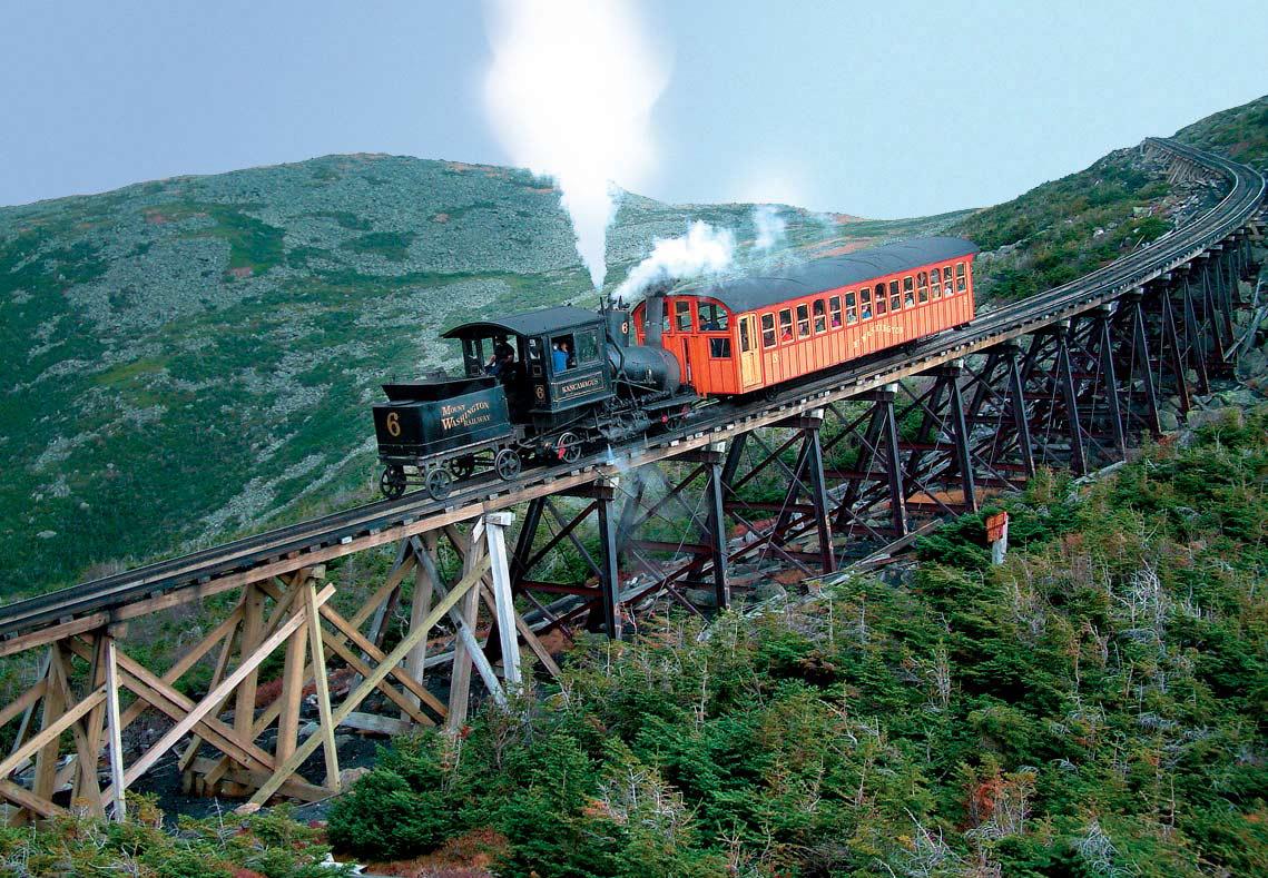 Mt. Washington Cog Railway, New Hampshire
