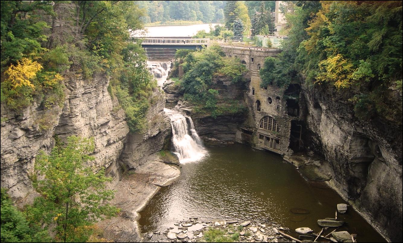 Triphammer Falls, New York State