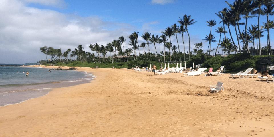 mokapu beach wailea hawaii