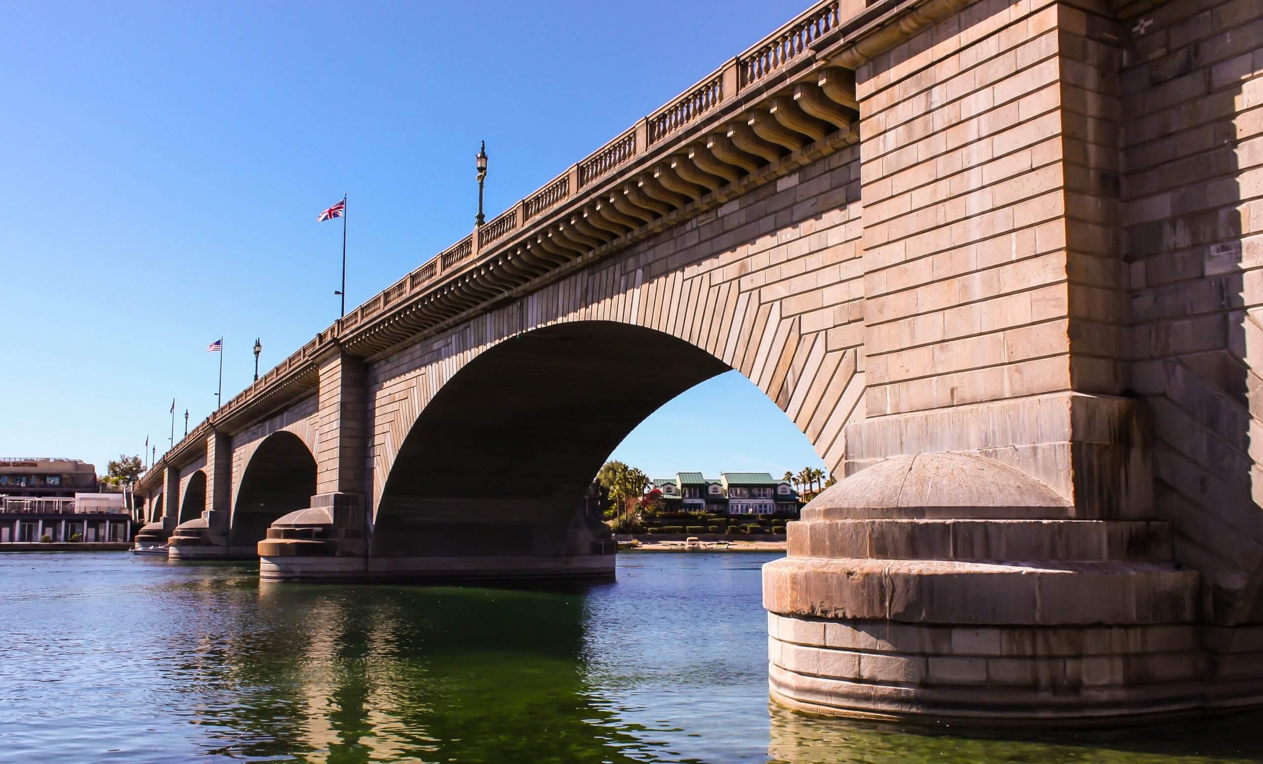 London Bridge in Lake Havasu, Arizona.