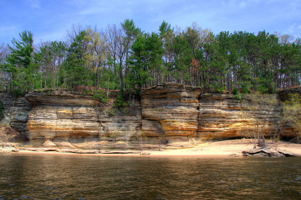 The Dells of the Wisconsin River, Wisconsin