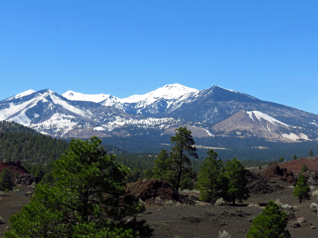 Sunset Crater Volcano National Monument is one of the national parks in Arizona still open during the coronavirus.