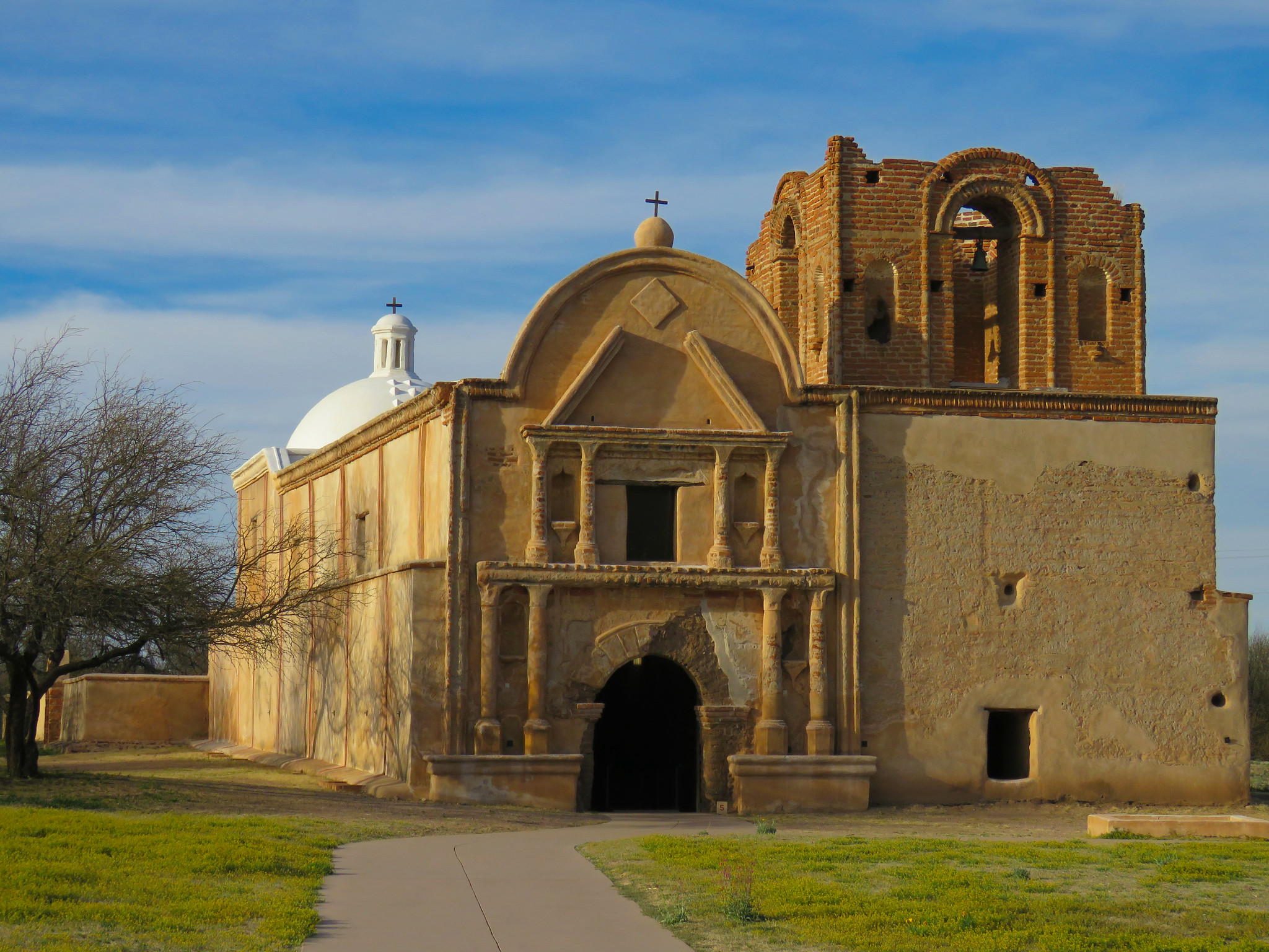 The Tumacácori National Historical Park is one of the national parks in Arizona still open during the coronavirus.