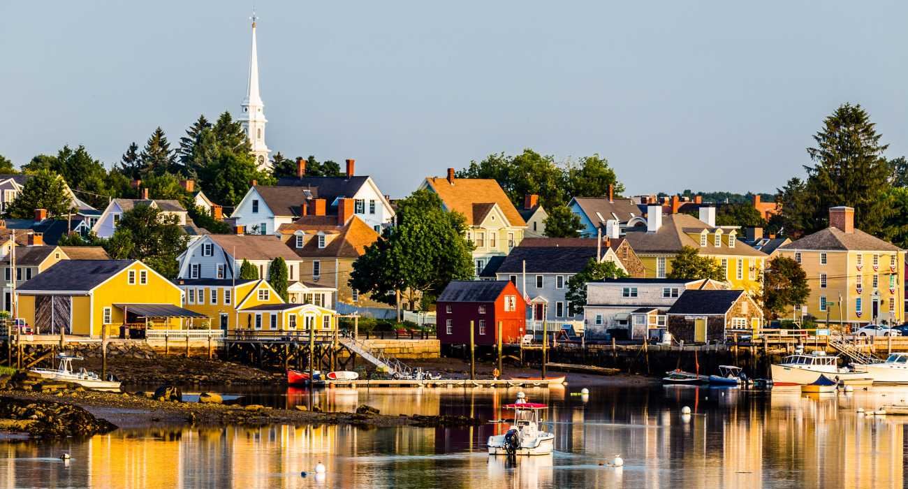 Portsmouth Harbor Trail and Historic Houses, New Hampshire