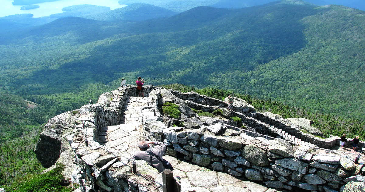 Whiteface Mountain Steps, New York State