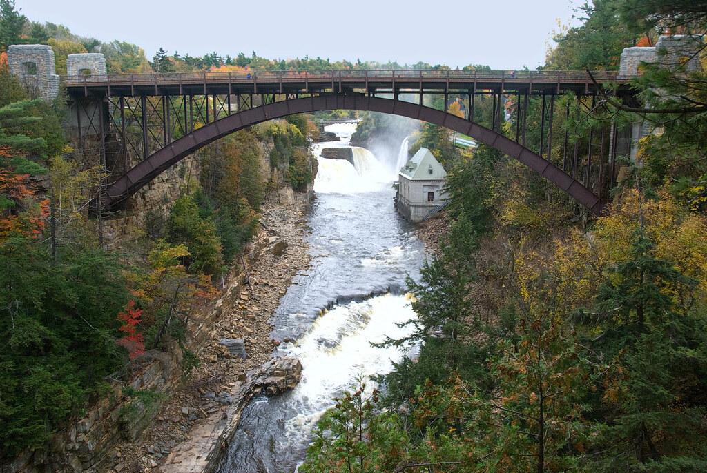 Ausable Chasm Bridge, New York State