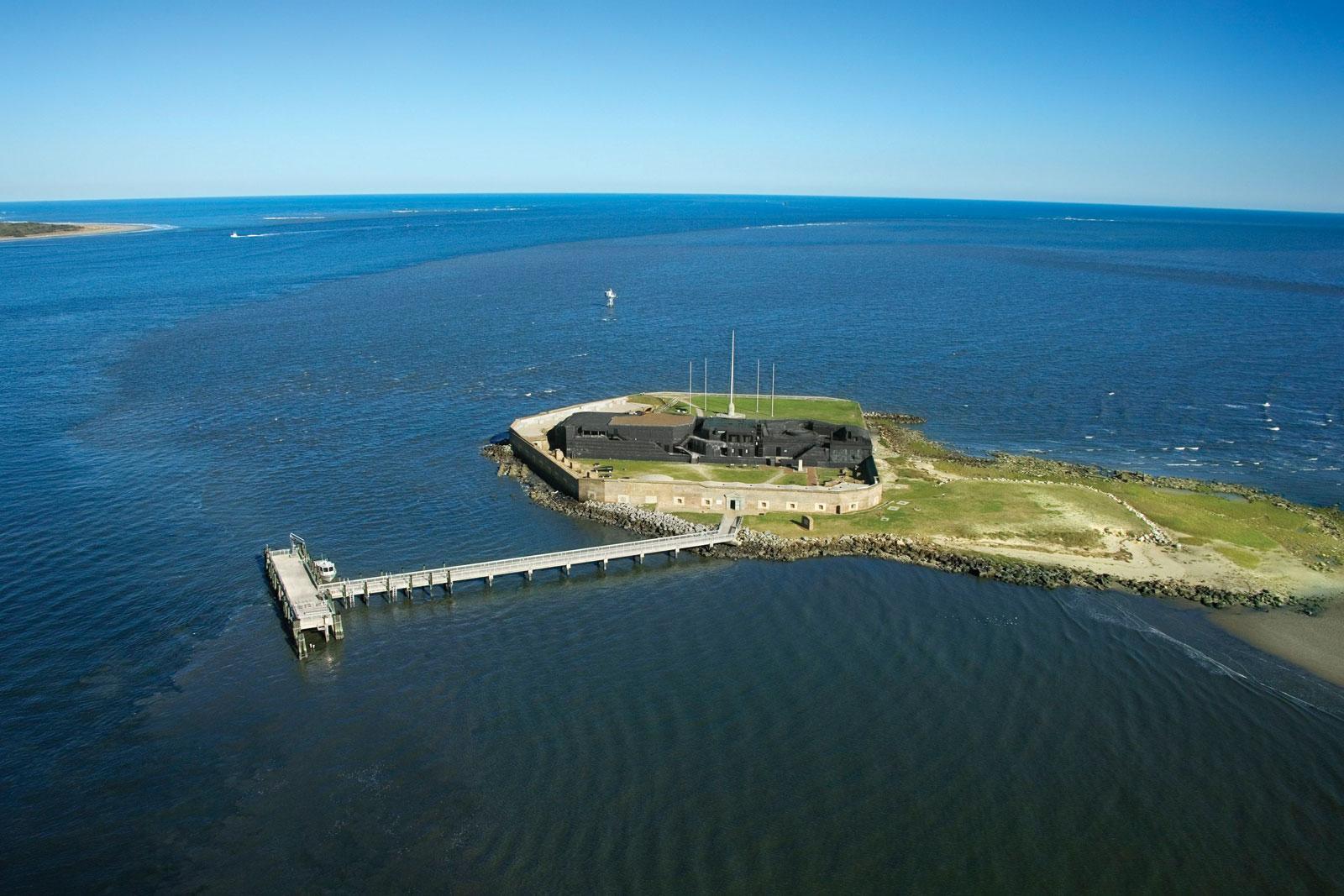 Fort Sumter and Charleston Harbor, South Carolina