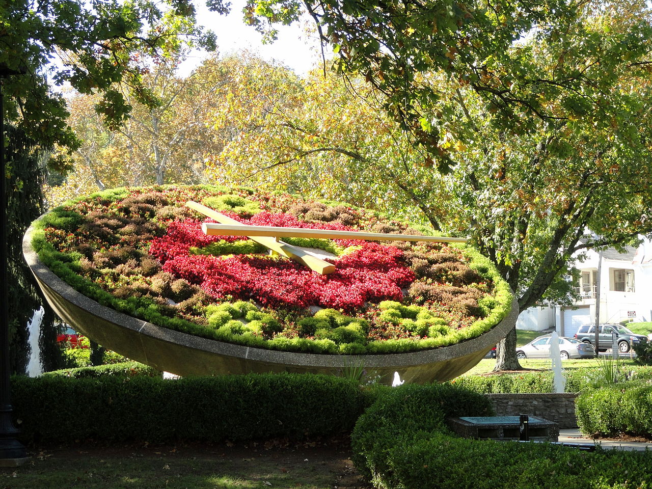 The Floral Clock, Frankfort, KY