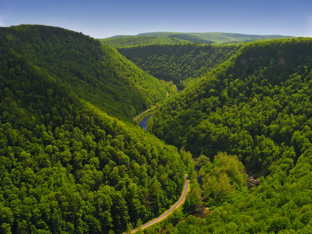 Pine Creek Gorge, Pennsylvania