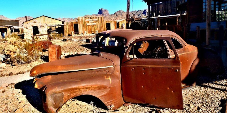 The ghost town of Kofa, Arizona.