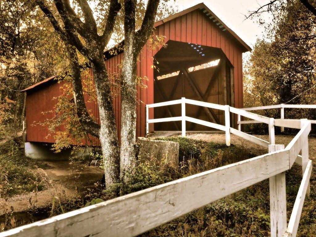 Sandy Creek Covered Bridge, Missouri