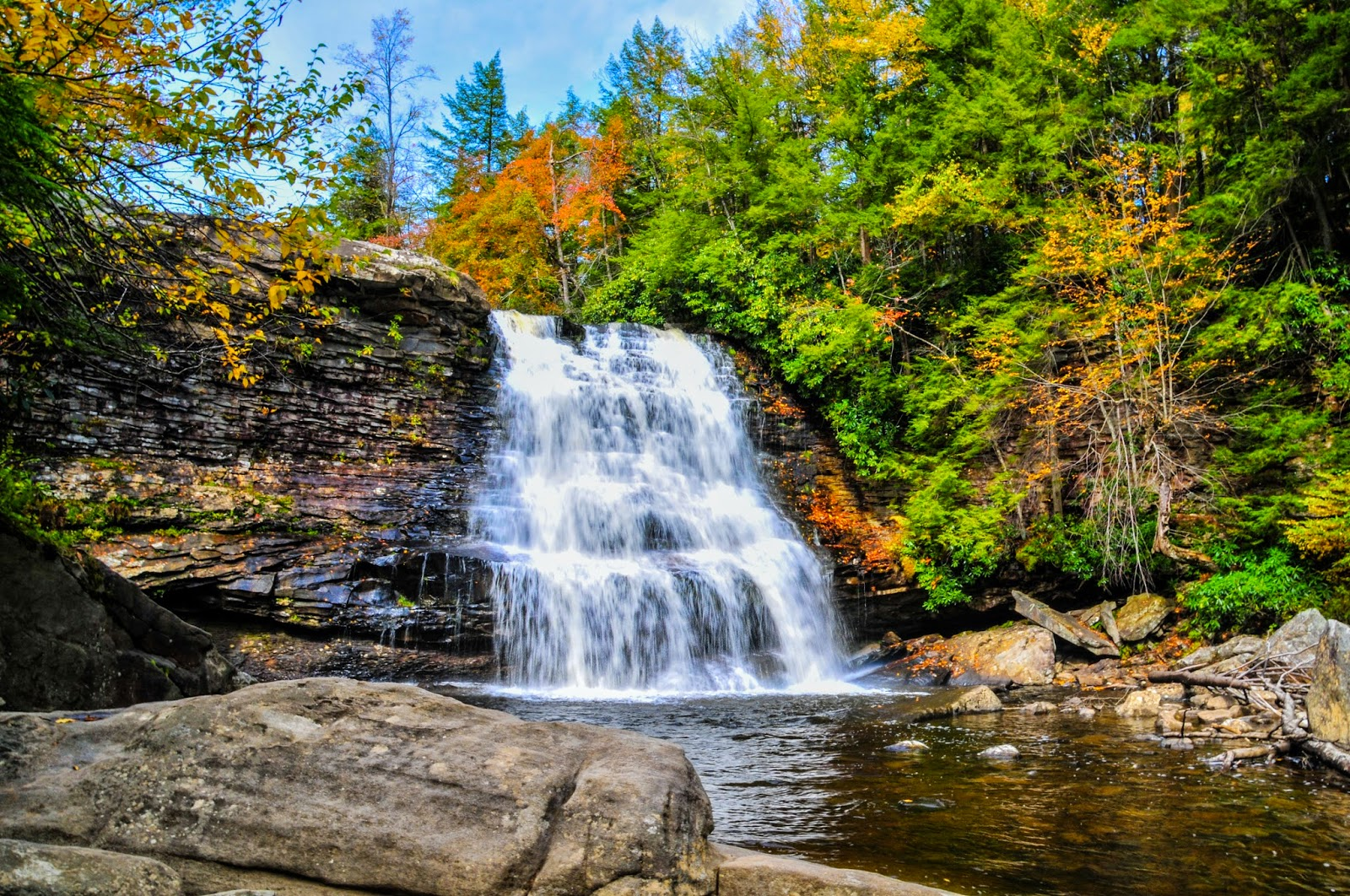 Swallow Falls State Park, Maryland