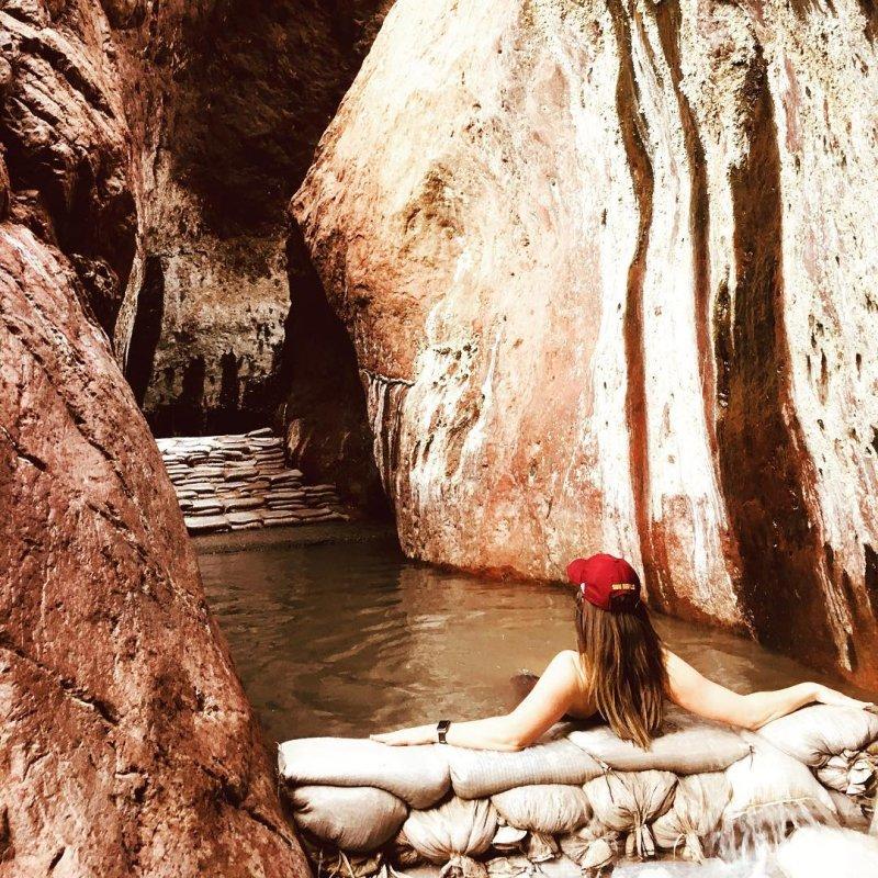 Arizona Hot Springs Ringbolt