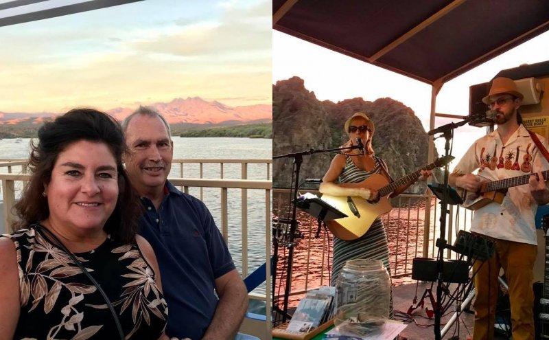 Desert Belle Cruises Arizona Saguaro Lake
