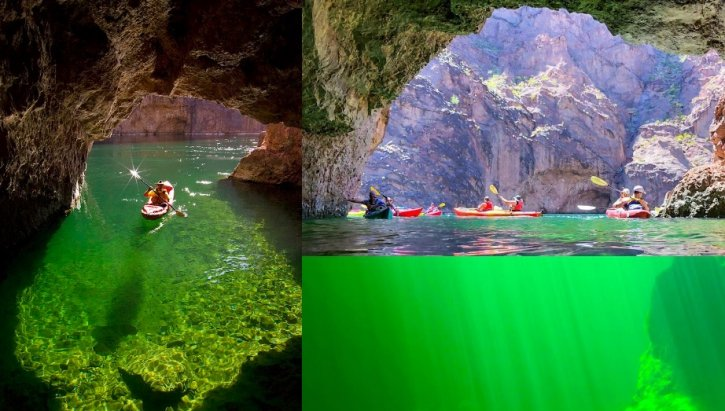Emerald Cave Kayaking Arizona