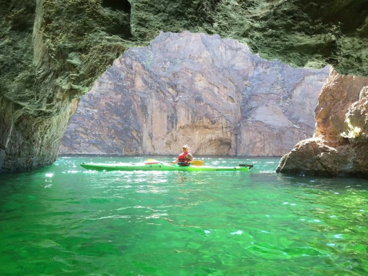 Emerald Cave Willow Beach Arizona