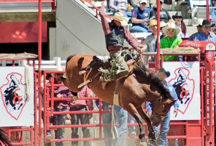 Frontier Days Rodeo