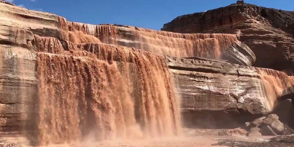 Grand Falls Arizona Chocolate Waterfall