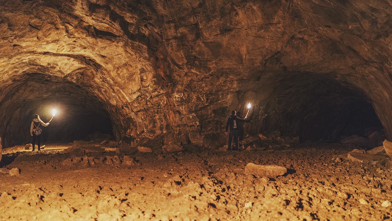 Lava River Cave Arizona Flagstaff Passageway