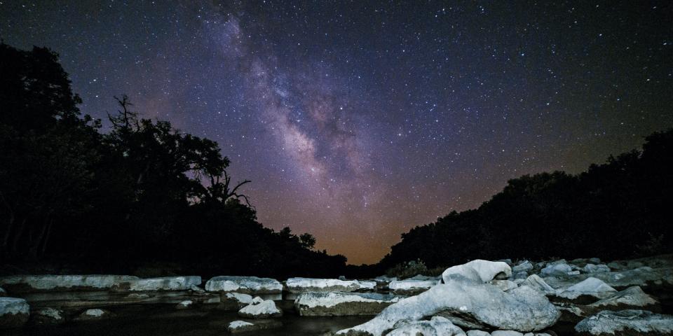 dinosaur valley state park texas stargazing